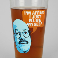 Arrested Development Blue Myself Pint Glass
