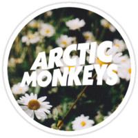 Arctic Monkeys floral logo T-Shirts & Hoodies