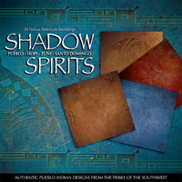 Shadow Spirits Native American Digital Paper Pack: Pueblo, Hopi, Zuni, Santo Domingo  - Digital Download