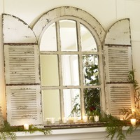 Arched Door Mirror | Pottery Barn