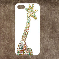 Giraffe iphone 4 case iphone 4s case IPhone 5s case IPhone 5c case IPhone 5 case Igiraffe iphone case Hard case Rubber case