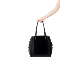 COMBINATION LEATHER SHOPPER - Handbags - Woman | ZARA United States
