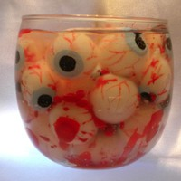 Dexter Bloody Deluxe Candle Eyeball Gothic Horror