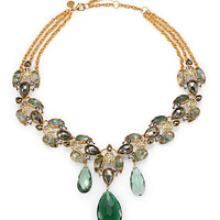 Alexis Bittar - Semi-Precious Multi-Stone Collar Necklace