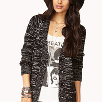 Relaxed Heathered Cardigan | FOREVER 21 - 2000051417