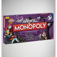 'Nightmare Before Christmas' Monopoly Game