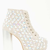 Lita Jeweled Platform Boot