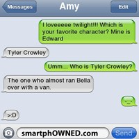 :d, funny, smart phone, smartphowned - inspiring picture on Favim.com