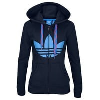 adidas Originals Trefoil FZ Hoodie - Women's at Foot Locker