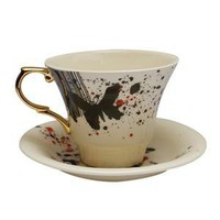 Luna & Curious ? Pretty Ugly Cup & Saucer