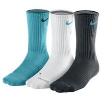 Nike Store. Nike Dri-FIT Cotton Fly Crew Socks (3 Pair)
