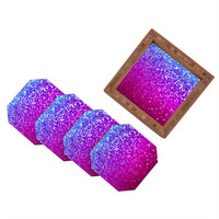 DENY Designs Home Accessories | Lisa Argyropoulos New Galaxy Coaster Set