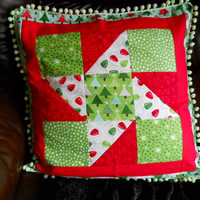 Patchwork Cushion Price Reduction from 20 to 15.00