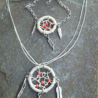 Dreamcatcher Jewelry You Pick Necklace or by MidnightsMojo on Etsy