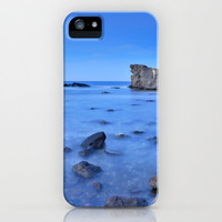 Blue paradise iPhone & iPod Case by Guido Montañés