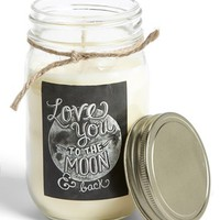 Primitives by Kathy 'Love' Mason Jar Scentless Candle