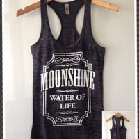 Burnout Razor Tank- Moonshine