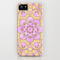 Cassy in Lilac iPhone & iPod Case by Lisa Argyropoulos