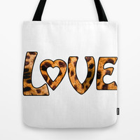 LOVE Tote Bag by catspaws