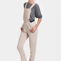 Starting Over Georgette Overall Pants