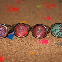 Spakles and Things Rings by MischievousArtistry on Etsy