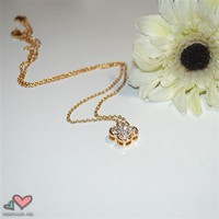 iShopCandy.com | Gold Lucky Charm Pendant Necklace