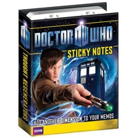 Doctor Who Sticky Notes - Dr. Who, TARDIS, and 4 different Daleks