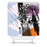DENY Designs Home Accessories | Randi Antonsen Poster Hero 3 Shower Curtain