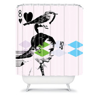 DENY Designs Home Accessories | Randi Antonsen Poster Hero 2 Shower Curtain