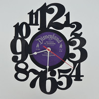 Vinyl Record Clock (artist is Disneyland 101 Dalmatians)