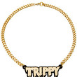 Melody Ehsani x Karmaloop Necklace The Trippy Drip in Gold
