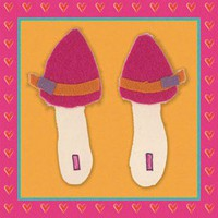 Art 4 Kids Tres Chic Shoes II Wall Art - 21344 - Decor