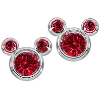 Disney Mickey Mouse Birthstone Earrings | Disney Store
