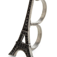 Eiffel Pretty Double Ring | Mod Retro Vintage Rings | ModCloth.com