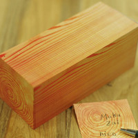 Generate Europe |  								Kakuzai Wood Memo Block by Kenjiro Sano for  - Free Shipping