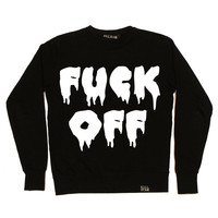 F**k Off Sweatshirt [B] | KILLSTAR