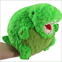 Mini Squishable T-Rex: An Adorable Fuzzy Plush to Snurfle and Squeeze!