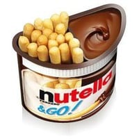 Nutella and GO! Snack (Case of 24) (52g): Amazon.com: Grocery & Gourmet Food