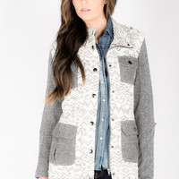 Tribal Cotton Jacket - Women's Clothing and Fashion Accessories | Bohme Boutique