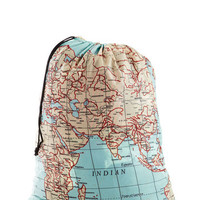 Where It's Atlas Laundry Bag | Mod Retro Vintage Bath | ModCloth.com
