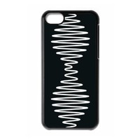 Arctic Monkeys Plastic Case/Cover FOR Apple iPhone 5C, Hard Case Black/White