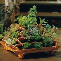Pyramid Planter - Plow & Hearth