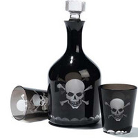 Apartment 48 - Shop - Decor - Skull Decanter and Glasses - Home Furnishings and Interior Design - New York City