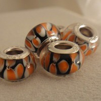 Amazing Colors Murano Glass Bead for your Pandora Bracelet | asterling - Jewelry on ArtFire