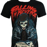 Falling In Reverse Ouija Board Men's Black T-Shirt - Offical Band Merch - Buy Online at Grindstore.com