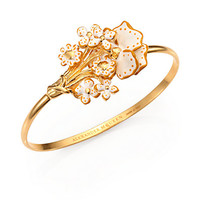 Alexander McQueen - Flower Bangle Bracelet