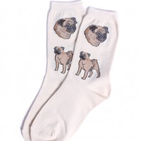 Pug Socks by Foot Traffic - ShopKitson.com