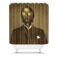 DENY Designs Home Accessories | Terry Fan Baron Von C3PO Shower Curtain