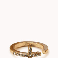 Open Midi Cross Ring | FOREVER 21 - 1000050641