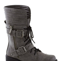 Cement to Be Boot | Mod Retro Vintage Boots | ModCloth.com